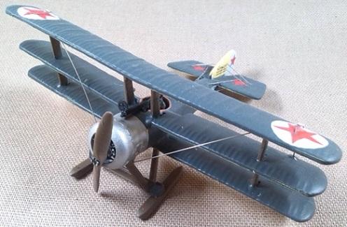 Sopwith Triplane soviético, 1917, escala 1/72, DeAgostini
