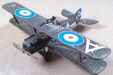 SE.5a de la aviación militar británica durante la I guerra mundial, escala 1/72, DeAgostini