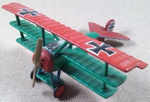 Dr.I de la Fuerza Aérea alemana durante la primera guerra mundial, escala 1/72, Lledo