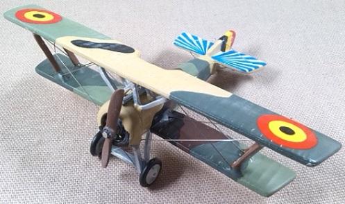 HD.1 de la aviación militar belga, escala 1/72, DeAgostini