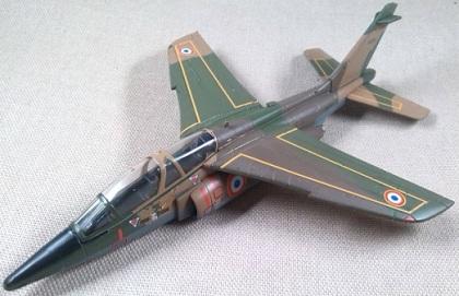 Alpha Jet de la Fuerza Aérea belga, escala 1/72, IXO-Altaya