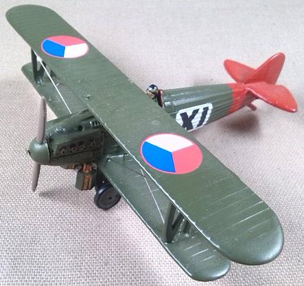 S-20 checo del 39.letka (39ª Ala de Caza), 1925, escala 1/72, DeAgostini