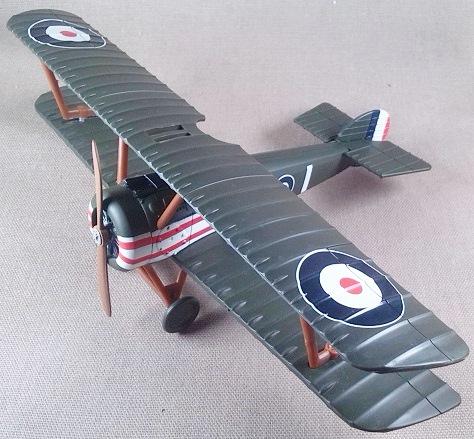 Camel F.1 de la aviación militar británica, I guerra mundial, escala 1/32, NewRay