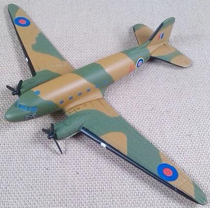 Dakota de la RAF, escala 1/250, Corgi