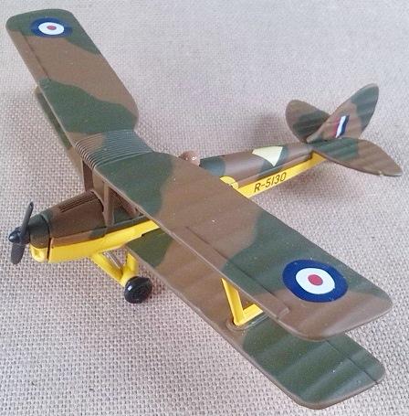 DH.82 de la RAF, escala 1/72, Corgi
