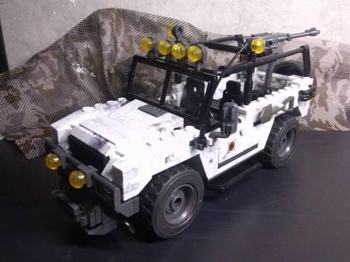 """Land Rover del set """"Arctic Invasion"""""""