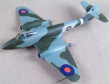 Meteor F.Mk.I de la RAF, escala 1/100, Italeri