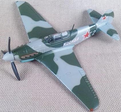 Yak-9 soviético, escala 1/87, DeAgostini