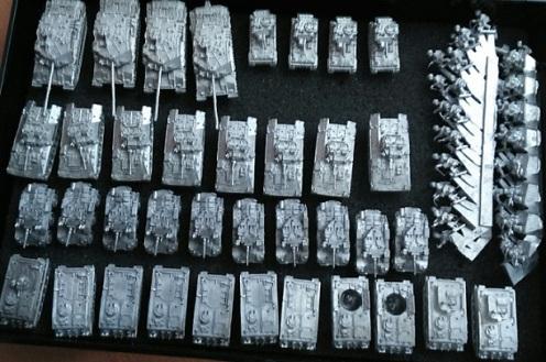 compañía blindada británica moderna 1/285