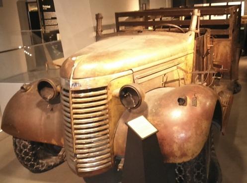 Chevrolet WB 30 empleado por el LRDG en el Norte de Africa en 1940 (Imperial War Museum, Londres)