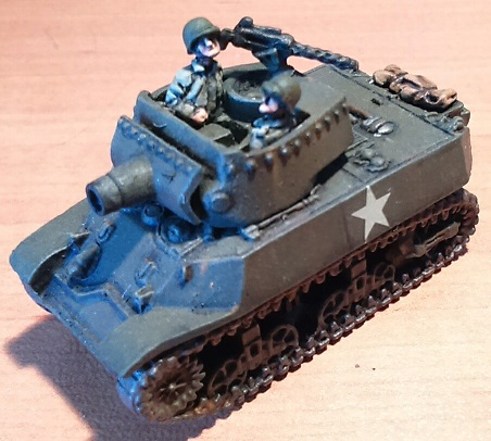 M-8 HMC de Battlefront, escala 1/100