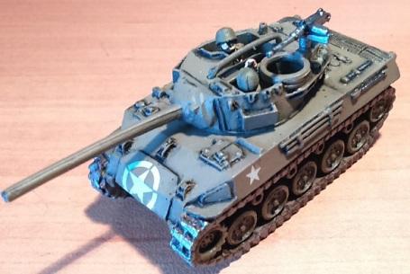 M-18 Hellcat de Battlefront, escala 1/100