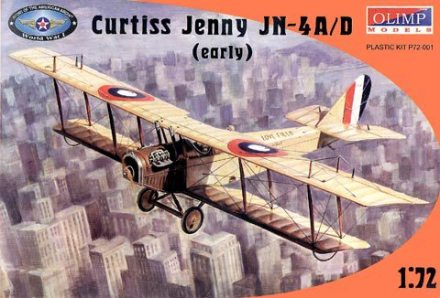 curtiss jn-4 olimp models