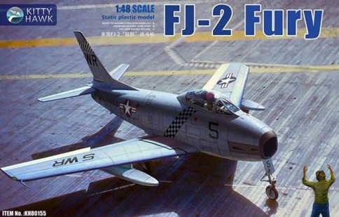 NA FJ2-3 Fury 148 Kitty Hawk