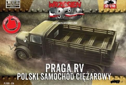 Praga RV first to fight transporte tropas