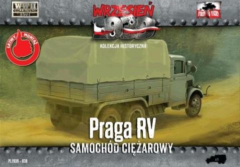 Praga RV first to fight